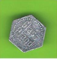 069  #  Spielmarke - Jeton - GLAS - PFAND / E-WERK - Profesionales/De Sociedad