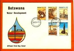 BOTSWANA, 1979, MNH F.D.C., Water Development, Nr(s) 225-229, F1020 - Botswana (1966-...)