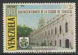 Venezuela 1967 Mi 1702 A Aero ** Palace Of The Academies + Coat Of Arms Of Caracas / Alten Akademie +  Stadtwappen - Monumenten