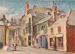 Wharf Road, Herbert Truman, St Ives, Cornwall, England Postcard Sweetman - St.Ives