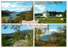 Beautiful Perthshire, Scotland Postcard - Perthshire