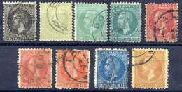 ROMANIA 1879 Definitive Set In New Colours,fine Used - 1858-1880 Moldavia & Principality