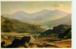 Snowdon And Capel Curig, Wales Postcard Judges - Caernarvonshire