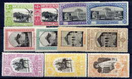 ROMANIA 1906 Jubilee Exhibition Set Mint Hinged - 1881-1918: Charles I