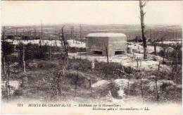 MONTS DE CHAMPAGNE - Blockhaus Sur Le MORONVILLIERS  (67533) - Andere Gemeenten