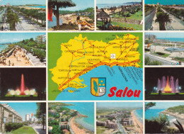 España--Tarragona--Salou--Diversos Aspectos De La Ciudad---Salou- A, Talence, Francia - Mapas