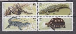 Argentine YV 2330/3 N 2002 Reptiles - Non Classés