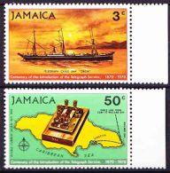 Jamaica - 1970 - Centenary Of Telegraph Service. - Jamaica (1962-...)