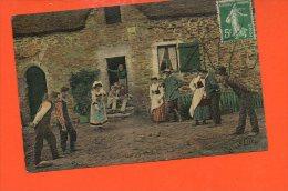 Agriculture - Le Dimanche Au Village - Petanque - Jeu De Boules - Jeux Régionaux