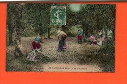 Agriculture - Les Glanneuses De Feuilles Mortes - La Vie Aux Champs - Cultures