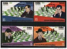 2013.15 CUBA 2013 MNH 125 ANIV DEL NATALICIO DE JOSE RAUL CAPABLANCA. CHESS. AJEDREZ. MNH - Kuba