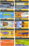 10 BILLETES SUBTEPASS / ARGENTINA / D4 - Métro