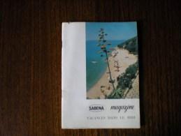 Sabena Magazine, Vacances Dans Le Midi 5-1963 - Non Classés