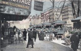 (13) Marseille - Cours St Saint Louis - Marché Aux Fleurs - Décrottage Commissionnaire & Bar - EXCELLENT état - Non Classificati