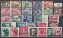 DR Lot 28 Marken Von 1933-1945 Postfrisch Mit Minr.831-842 - Vrac (max 999 Timbres)