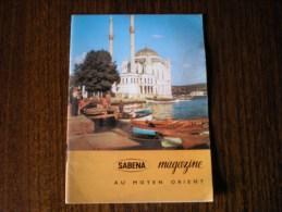 Sabena Magazine, Au Moyen-orient, 10-1963 - Non Classés