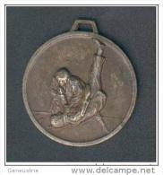 Pendentif Médaille Judo - Arts Martiaux - Sport - Sports