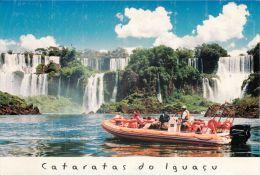 Cataratas Do Iguacu, Brasil Brazil Postcard Used Posted To UK 2007 Gb Stamp - Other