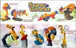Kinder - Série Complète Super Girafes Françaises Avec Bpz - Familles