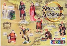 Kinder - Série Complète Seignuer Des Anneaux Avec Bpz - Familles