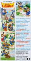 Kinder - Série Complète Sir Condor Italie Avec Bpz - Familles