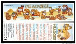 Kinder - Série Complète Miaogizi Italie Avec Bpz - Familles
