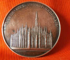 Italie - MILAN  - MEDAILLE BRONZE - LATUS ECCL METROP MEDIOLANI, Médaille Rare - Other