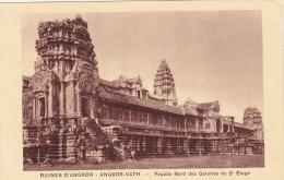 Cpa,CAMBODGE,baphuan,ruines  D´angkor,angkor-vath,rout E  Du Temple,12ème Siècle,rare,hindou,vishno U,bouddhiste,rare,k