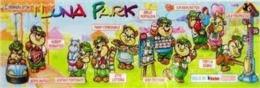 Kinder Série Complète I Luna Park Italie Avec Bpz - Familles