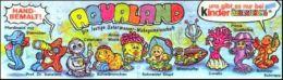 Kinder Série Complète Aqualand Allemagne  Avec Bpz Et Petit Livre - Familles