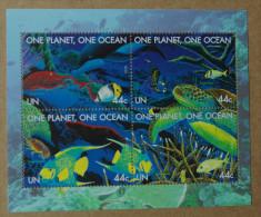 Y1 Nations Unies (New York)  : Une Planète, Un Océan - Ongebruikt