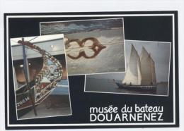 29--DOUARNENEZ-- MUSÉE DU BATEAU  -RECTO / VERSO-E53 - Douarnenez