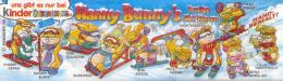 Kinder Série Complète Hanny Bunny's Allemagne Avec Bpz - Familles