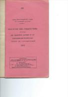 Fascicule des corrections aux instructions nautiques N� 405 : ESPAGNE et PORTUGAL - 1951.