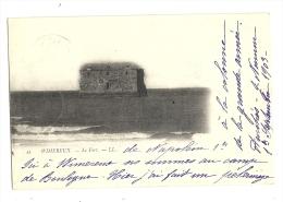 Cp, 62, Wimereux, Le Fort, Voyagée 1905 - Autres Communes