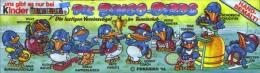 Kinder Série Complète Bingo Birds Allemagne Avec Bpz (sans La Capsule Jaune Kinder) - Familles
