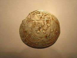 CHARLES VIII Blanc à La Couronne De BRETAGNE - 1483-1498 Karel VIII Van Frankrijk