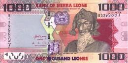 SIERRA LEONE   1 000 Leones   Daté Du 27-04-2010   Pick 30         ***** BILLET  NEUF ***** - Sierra Leone