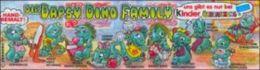 Kinder Série Complète Dapsy Dino Family Allemagne Avec Bpz - Familles