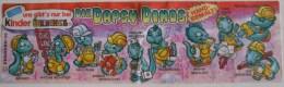 Kinder Série Complète Dapsy Dino  Allemagne Avec Bpz Et Petit Livre - Familles