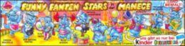 Kinder Série Complète Funny Fanten Stars Manege Allemagne Avec Bpz - Familles