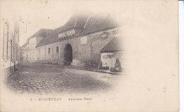 ECQUEVILLY,  Ancienne Porte, Carte Precurseur Non Circulée - France