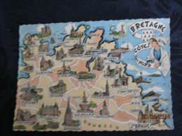 Bretagne Cote Nord - Mapas