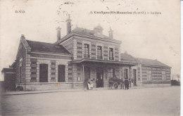 CONFLANS SAINTE HONORINE,  La Gare, Circulée - Conflans Saint Honorine