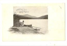 S462 - Greeting From Lake Placid - Adirondack