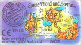 Kinder Série Complète Sonne Mond Und Sterne  Allemagne Avec Bpz Et Variantes - Familles