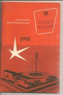 M-A @ EXPOSITION UNIVERSELLE ET  INTERNATIONALE BRUXELLES 1958 GUIDE OFFICIEL - Programmi