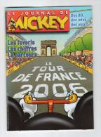 Mai14     Réf 65077          Tour De France Cycliste   Le Journal De Mickey  2006 - Cyclisme