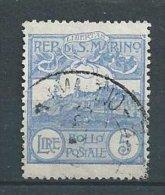 San Marin - Yvert N° 117 - Port Simple Gratuit - Free WW Postage - Oblitérés