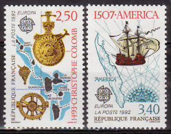FRANCE - 1992 - YT N° 2755 / 2756  -** - TB - - France